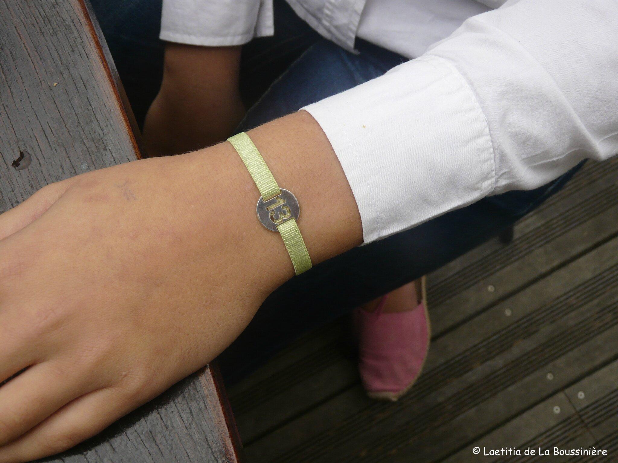 Le bracelet 13 d'Ombline