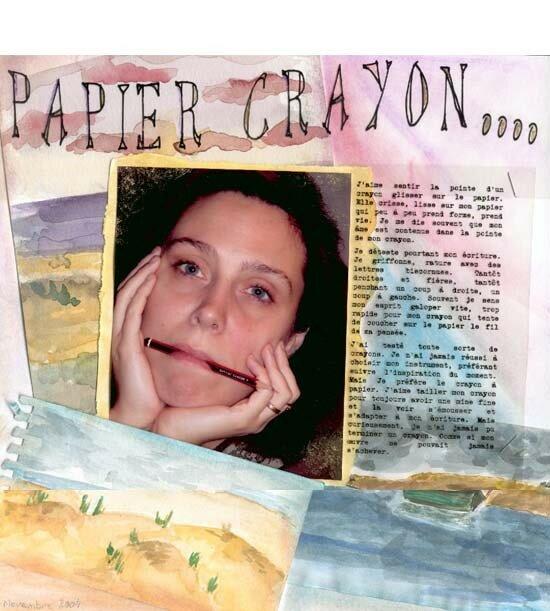 Papier crayon