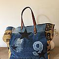 Cabas Sardine & Cie Collection Jean/Jute
