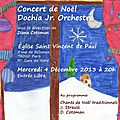 Concert de noël - dochia orchestra jr.
