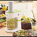 Découpe Légumes en Spirale électrique - <b>Kenwood</b> - + VIDEOS