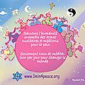 La Méditation ou le méditer pour la paix dans le monde...