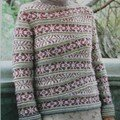Fair-Isle Short Row Pullover