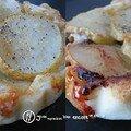 Tatin de poires au roquefort et aux noix