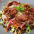 Salade de boeuf à la menthe