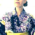Folded in a <b>Yukata</b>