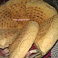 Khobz tajine , matlou, pain à la poêle