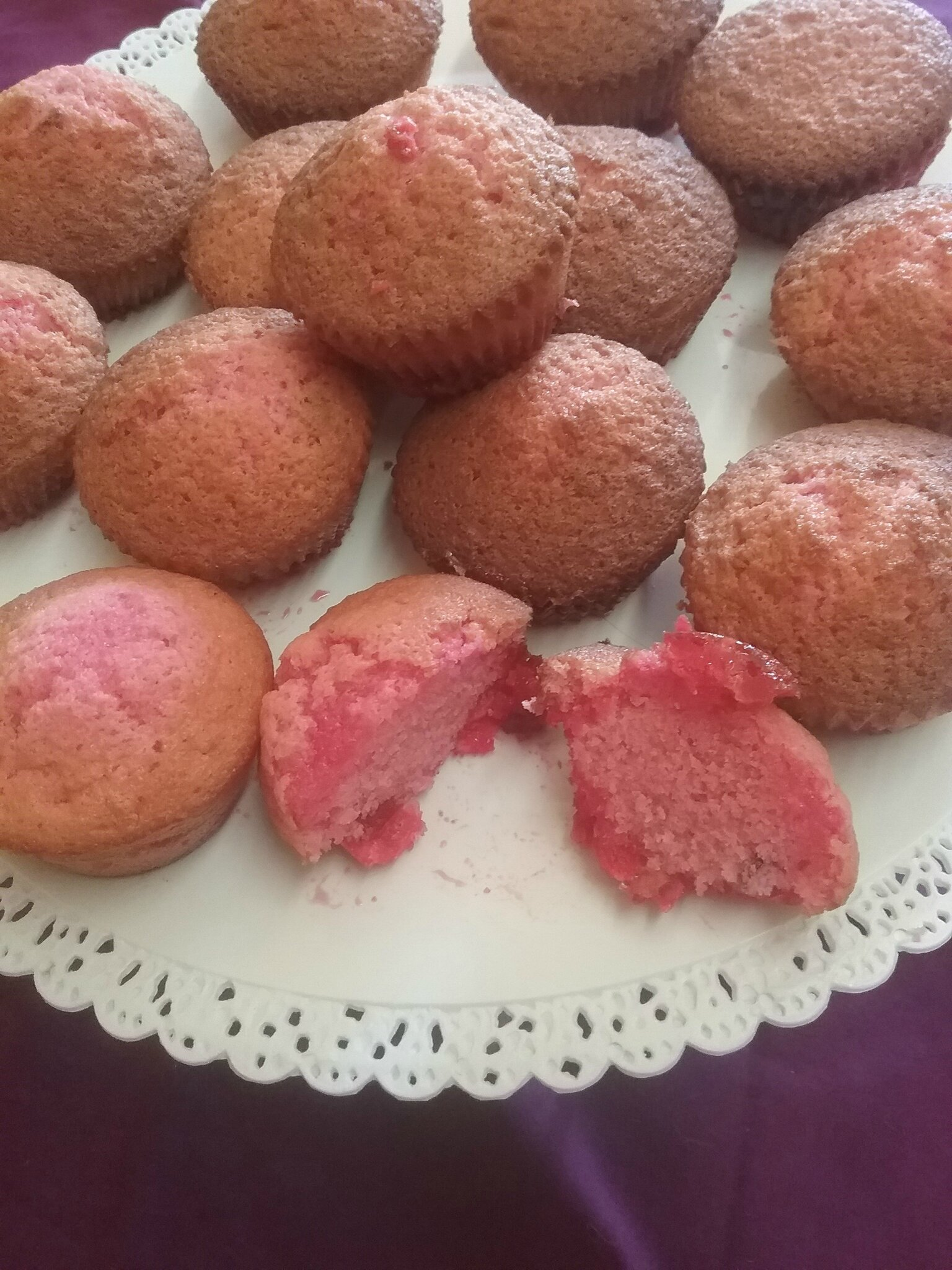Muffins girly aux pralines 120