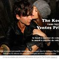 The kooples, ventes privées en boutique avant les soldes‏