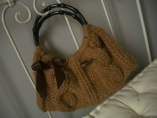 Cable Couture bag