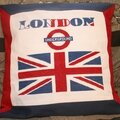 SAL I love London Coussin Recto