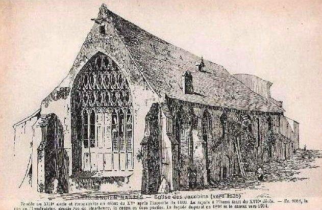 Ancien Nantes - Eglise des Jacobins