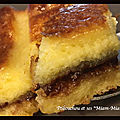 Croque-cake nutella et noisettes