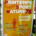 PRINTEMPS SPORT NATURE 76 .