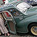Renault 4cv table à langer