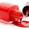Manicure - Nail Polish : pink