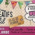 Salon des Loisirs Créatifs et du Fil de <b>Brive</b>-La-Gaillarde