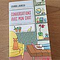 J'ai lu Conversations avec mon chat d'<b>Eduardo</b> <b>Jauregui</b>