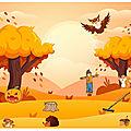 MATÉRIEL - verbalisation : automne