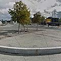 Rond-point à Trondheim (Norvège)