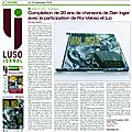 La UNE du LusoJornal 16 Novembre 2016