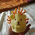 Voici l'une de mes première création en tricot