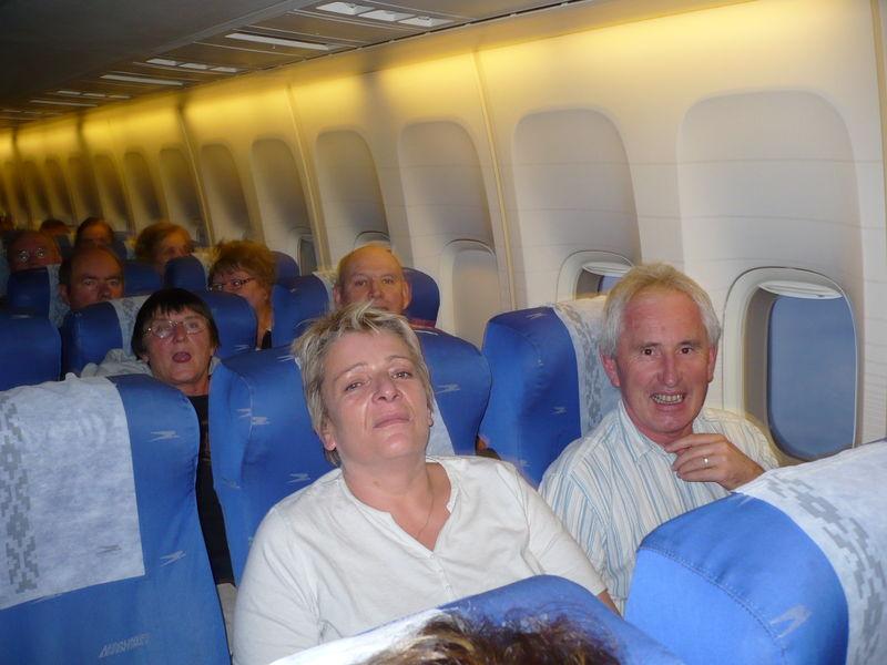 départ pour 12 heures d'avion !!