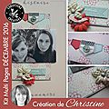 Kit multi pages de décembre par christine