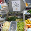 Julienne pour la soupe aux légumes