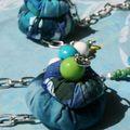 Sautoir -au bord de la mer - 15€ -VENDU
