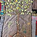 Art textile, broderie, peinture, scrapbooking, carterie