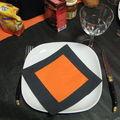 Halloween 2007 - la table - zoom