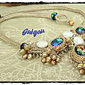 Collier Camille (7) signé-framed