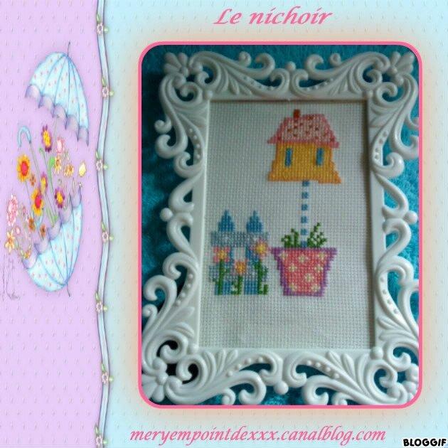CREAS MERYEM BRODERIE Le nichoir (1)