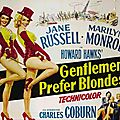 Fiche du film gentlemen prefer blondes
