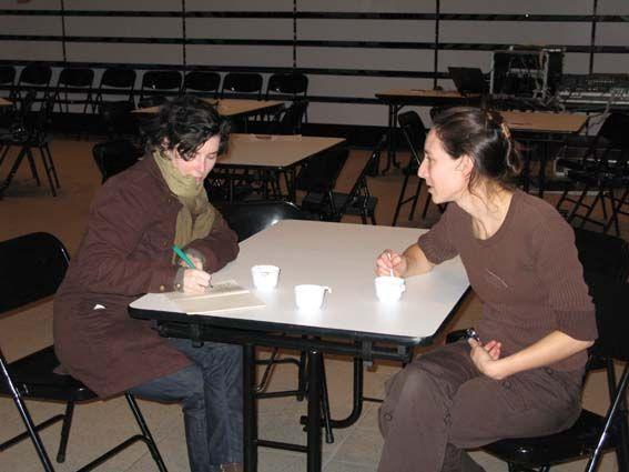 Mary en interview pour Ouest France
