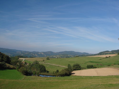 2008 09 21 Paysage en Ardèche près de Saint Julien le Roux