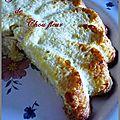 Gâteau de chou fleur au parmesan