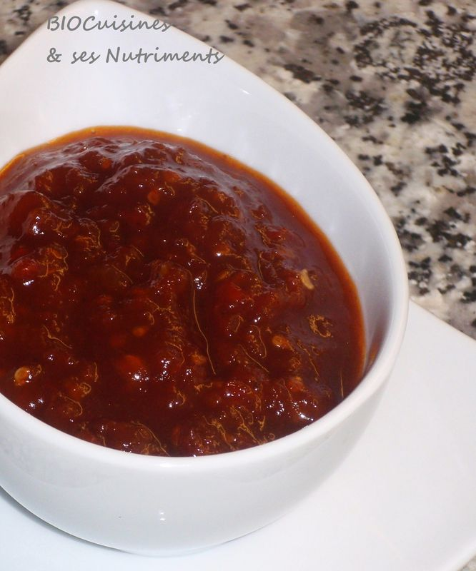 sauce tomates seches