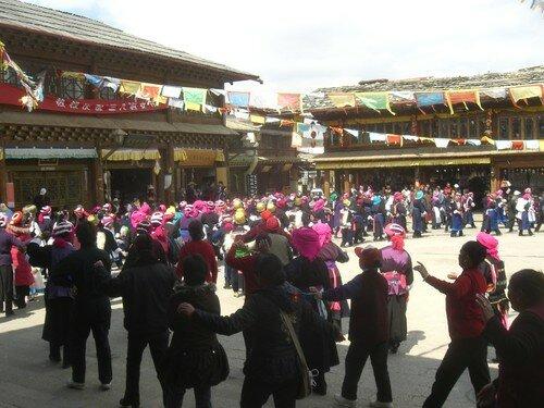 ZHongdian, danses tibetaines