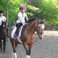 Mes filles à poney