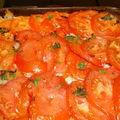 Parmentier de poisson à la tomate