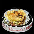 Muffin au camembert
