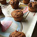 Muffin cranberries chocolat blanc