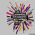 Les journées européennes des métiers d'art 2013