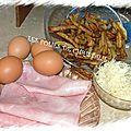 Tortilla fond de frigo