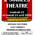 Soirees theatre a ciry-salsogne