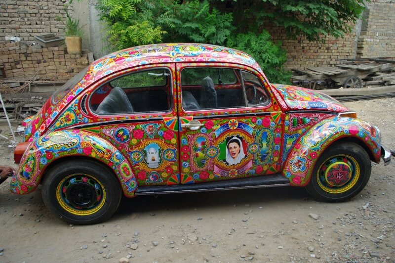 Hope the mechanic is as good as the painter !