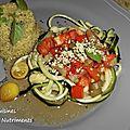 courgette tomate quinoa