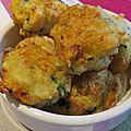 Bouchées de crevettes